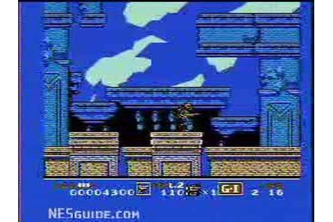 G.I. Joe: The Atlantis Factor - NES Gameplay - YouTube