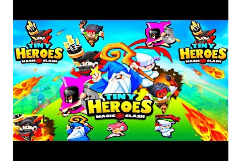 Tiny Heroes - Magic Clash - New Android Game 2019 - YouTube