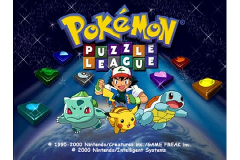 Image - Pokemon Puzzle League title screen.jpg - The ...