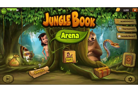 The Jungle Book: Official Game Trailer 2016 - YouTube