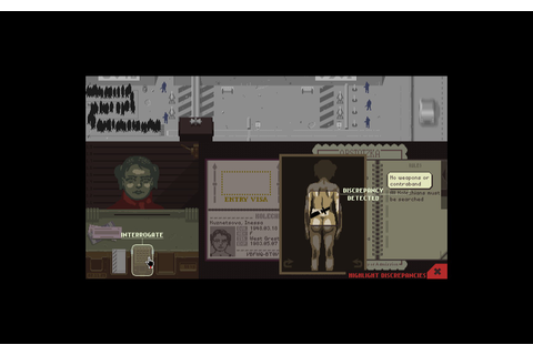 Papers Please Screenshot Steam Gameplay Logo Game (3 ...