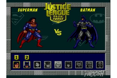 Blizzard: Justice League Task Force for the SNES, Genesis ...