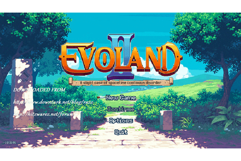 Evoland II: A Slight Case of Spacetime Continuum Disorder ...