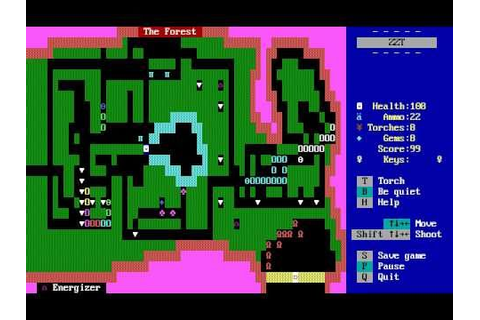 Orange Lounge Radio - Classic Game of the Week: ZZT ...