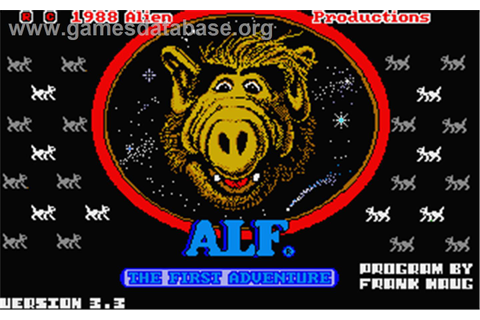 ALF: The First Adventure - Atari ST - Games Database