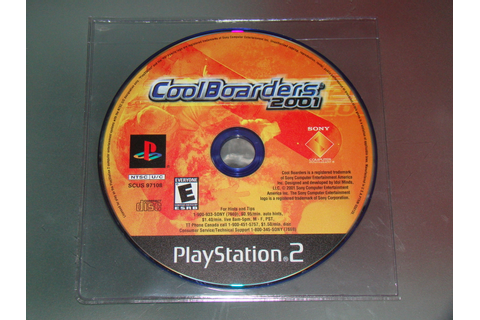 Playstation 2 - Cool Boarders 2001 (Game Only) - Video Games
