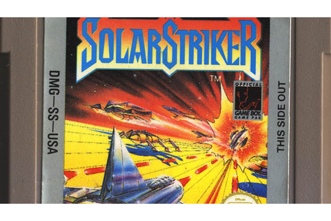 Classic Game Room - SOLAR STRIKER review for Nintendo Game ...