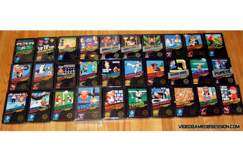 All NES Black Box games | Video Games | Nes games, Games ...