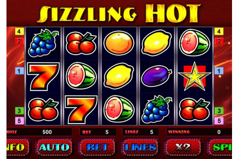 Games - Free Sizzling Hot Deluxe