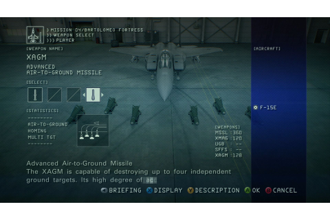 Ace Combat 6: Fires of Liberation Screenshots for Xbox 360 ...