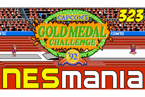 323/710 Capcom's Gold Medal Challenge '92 - NESMania - YouTube