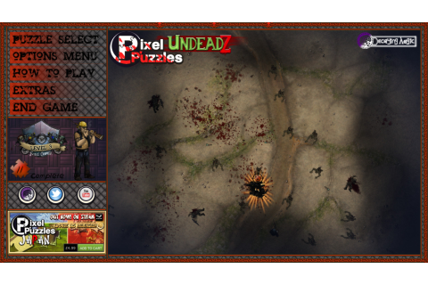 Pixel Puzzles UndeadZ Review – Brash Games