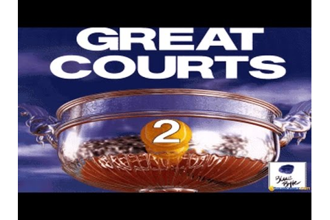 Great Courts 2 gameplay (PC Game, 1991) - YouTube