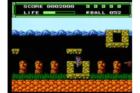 Xexyz Game Sample - NES/FC - YouTube