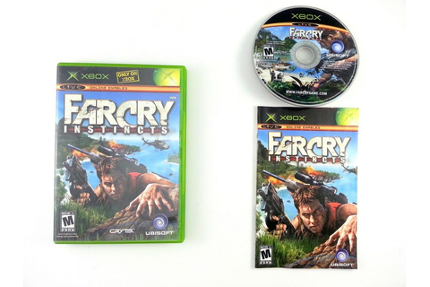 Far Cry Instincts game for Xbox (Complete) | The Game Guy