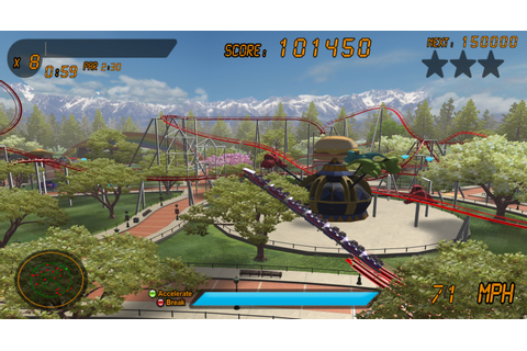 Download Roller Coaster Rampage Full PC Game