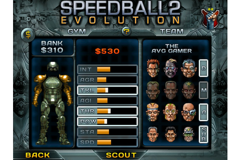 Image Gallery speedball game