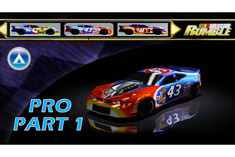 Nascar Rumble Pro Gameplay Playthrough Part 1 HD - YouTube