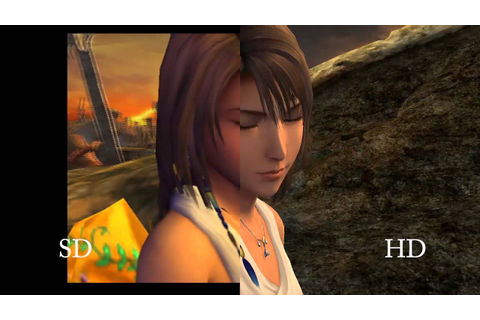 FINAL FANTASY® X/X-2 HD Remaster Comparison Trailer - YouTube