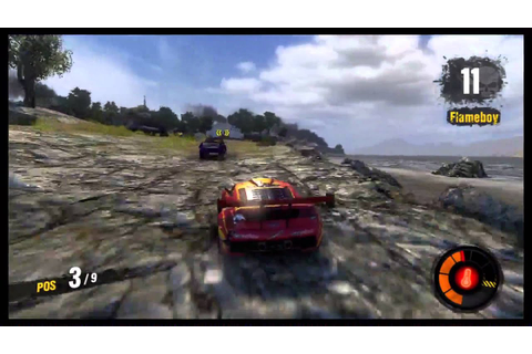 MotorStorm: Apocalypse Gameplay - YouTube