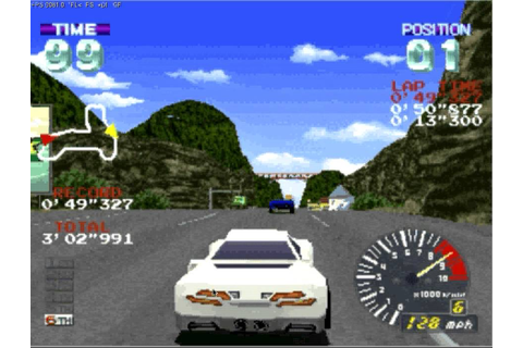 Nostalgia game room - Episode 2 - Ridge Racer Revolution ...