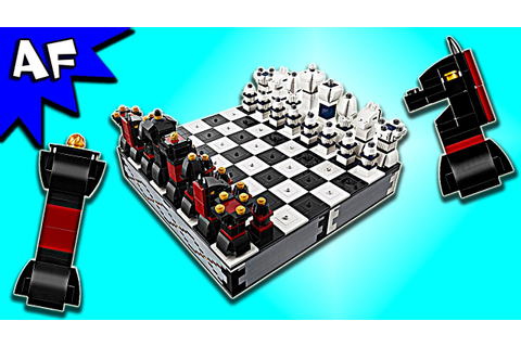Lego CHESS Game 40174 Gameplay & Speed Build - YouTube