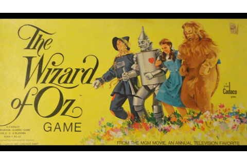What's Inside -The Wizard of Oz Board Game (Cadaco, 1974 ...