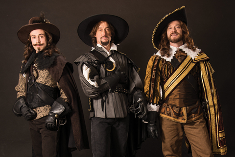 It's all for one, fun for all in USF's 'Three Musketeers ...