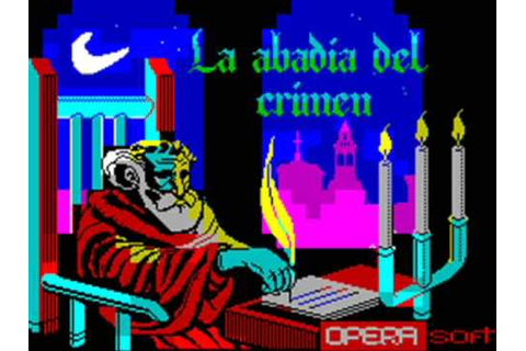 La Abadia del Crimen Spectrum Title Music - YouTube