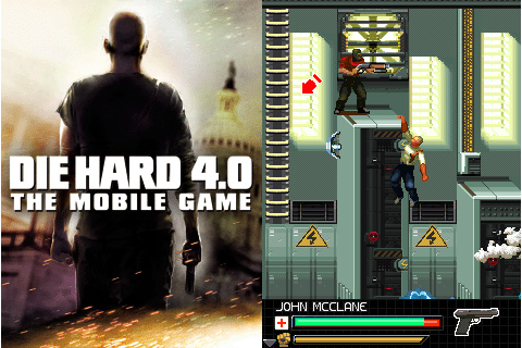 Die Hard 4 Sony Ericsson 240x320 Java Game | Mobile Games ...