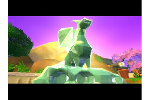 Spyro : Enter the Dragonfly - Crystal Dragon Interactions ...