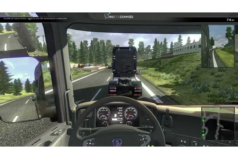 Scania Truck Driving Simulation per Mac: in game video ...