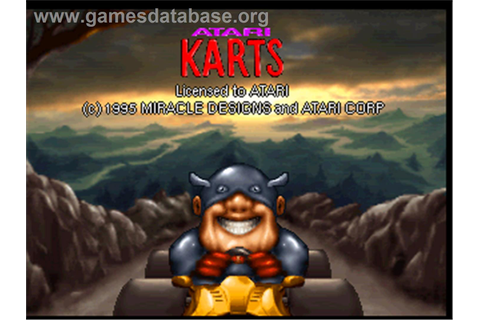 Atari Karts - Atari Jaguar - Games Database