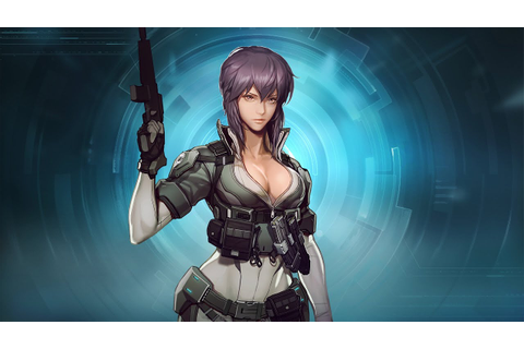 Ghost in the shell First Assault Motoko Gameplay - YouTube