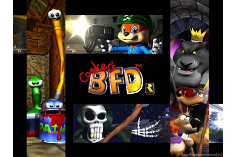 My Free Wallpapers Games Wallpapers : Conker's Bad Fur Day ...