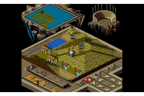 Play Populous II - Trials of the Olympian Gods (Japan ...
