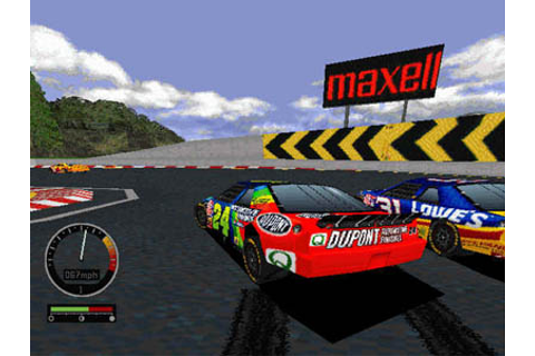 GameOver - Nascar Road Racing (c) EA Sports