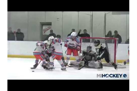 2017 MAHA Squirt Major state title game - YouTube
