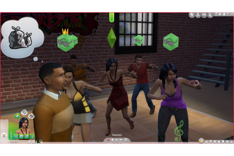 Les Sims 4 : Vivre Ensemble – Game Side Story