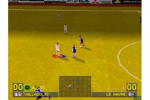 World League Soccer '98 for Sony Playstation - The Video ...