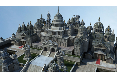 Ancient Castle 001 3D Model FBX MA MB | CGTrader.com