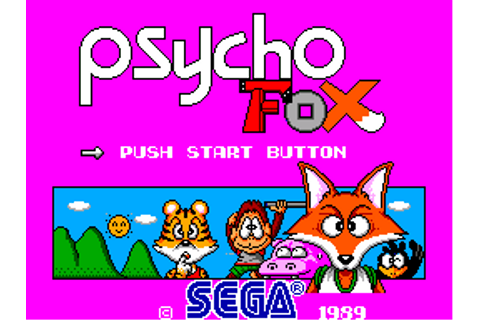 Psycho Fox - Games - SMS Power!