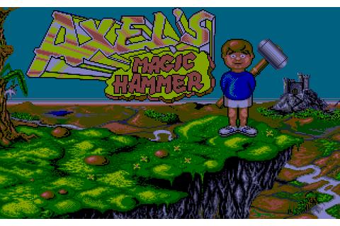 Axel's Magic Hammer (1989) by Core Design Atari ST game