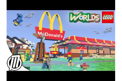 LEGO Worlds: FIRST PERSON Gameplay!! - Lego Minecraft Ep 4 ...