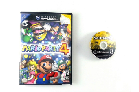Mario Party 4 game for Gamecube | The Game Guy