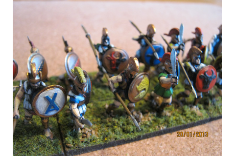 20mm Gamer: Early Greek Hoplites Done...