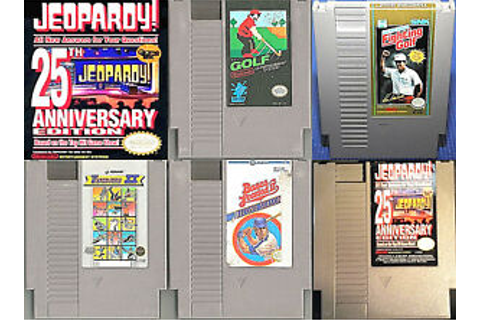 ESTATE LOT (Nintendo NES 1980's Games) Baseball Golf ...