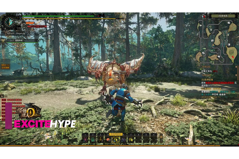 Monster Hunter Online (PC) - Open Beta Gameplay - YouTube