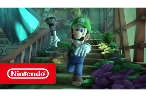 Luigi's Mansion 3 – Overview trailer (Nintendo Switch ...