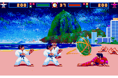 International Karate : The Company - Classic Amiga Games